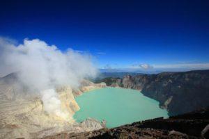 インドネシア『イジェン湖』